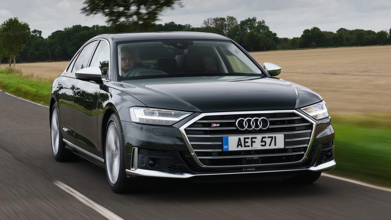 Pohľad na nové Audi S8 na rok 2020