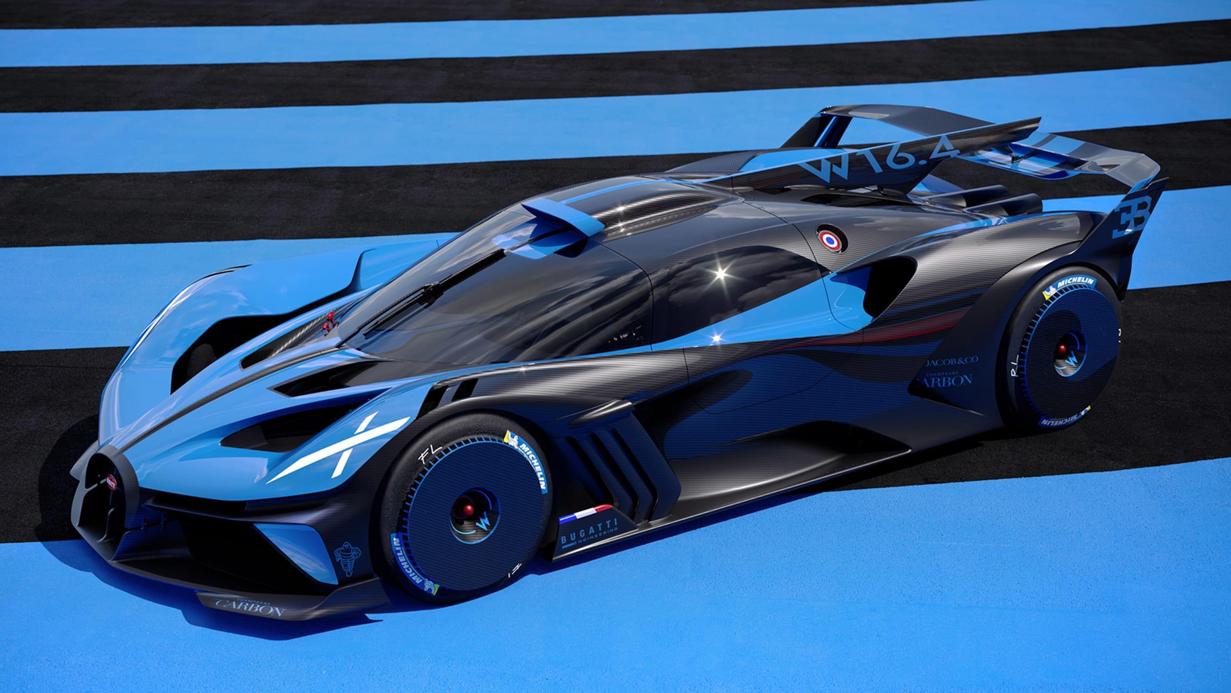 Nový Bugatti Bolide ohromí výkonom 1825 koní