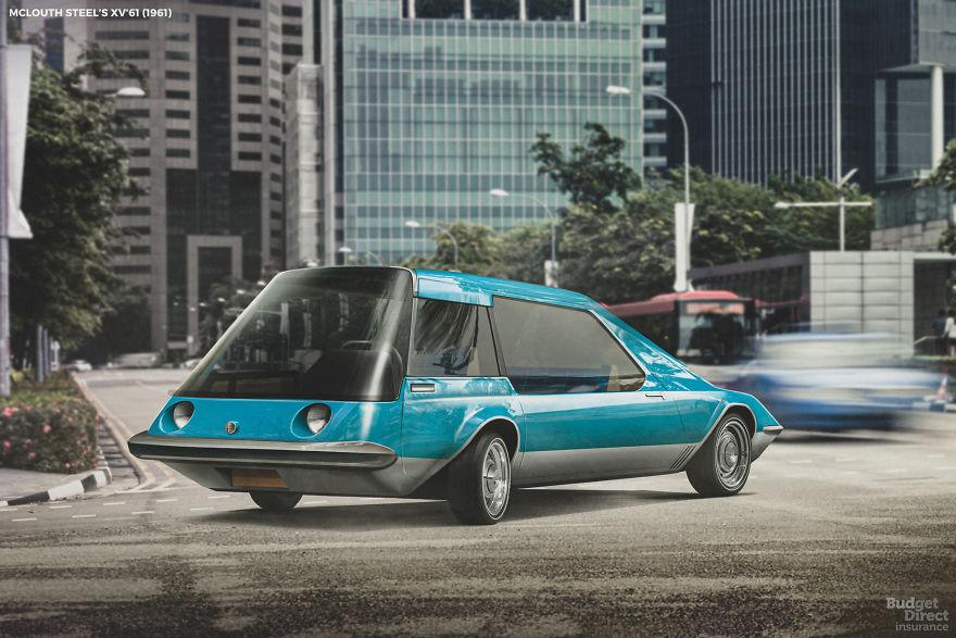 Futuristické vozy z minulého storočia, ktoré nikdy nevznikli