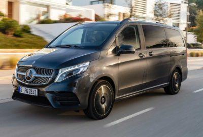 Mercedes triedy V získava exkluzívny vzduchové odpruženie